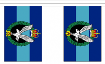 ARMY AIR CORPS BUNTING - 3 METRES 10 FLAGS